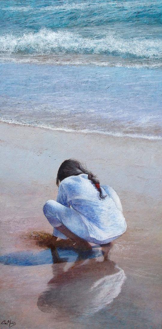 niña-en-la-playa